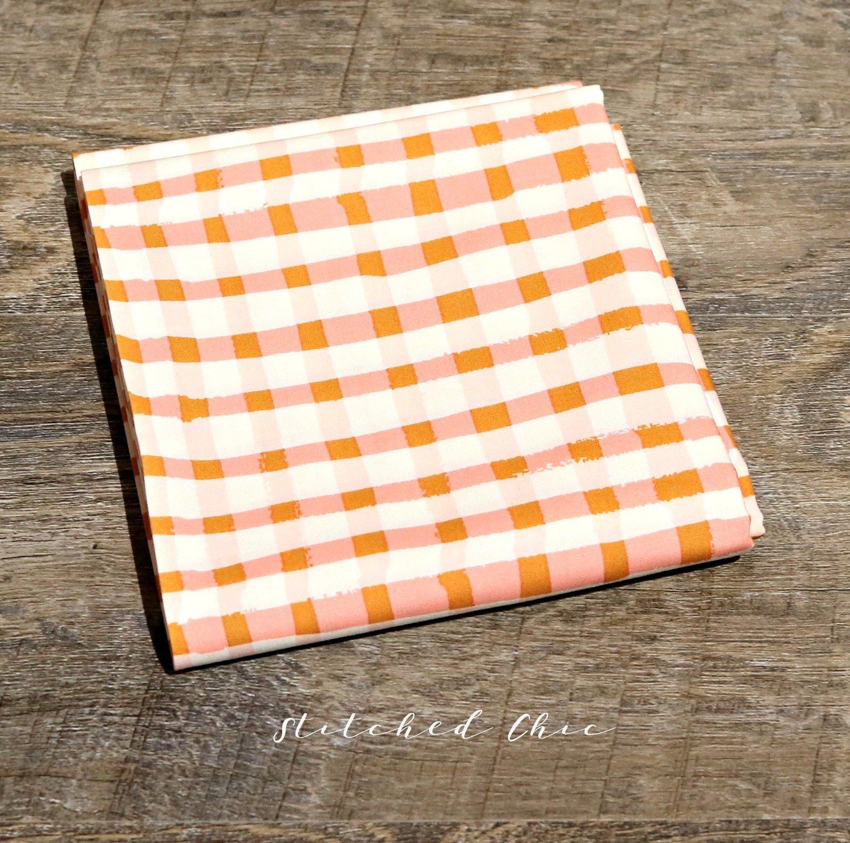 Art Gallery Fabric Lambkin in Wooly Blush by Bonnie Christine | 1/2 Yard |  Modern Cotton Fabric