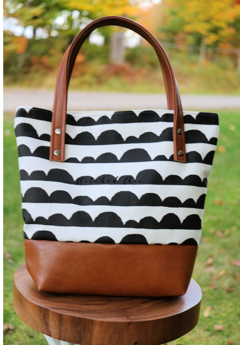 Stitched Chic Tote Bag