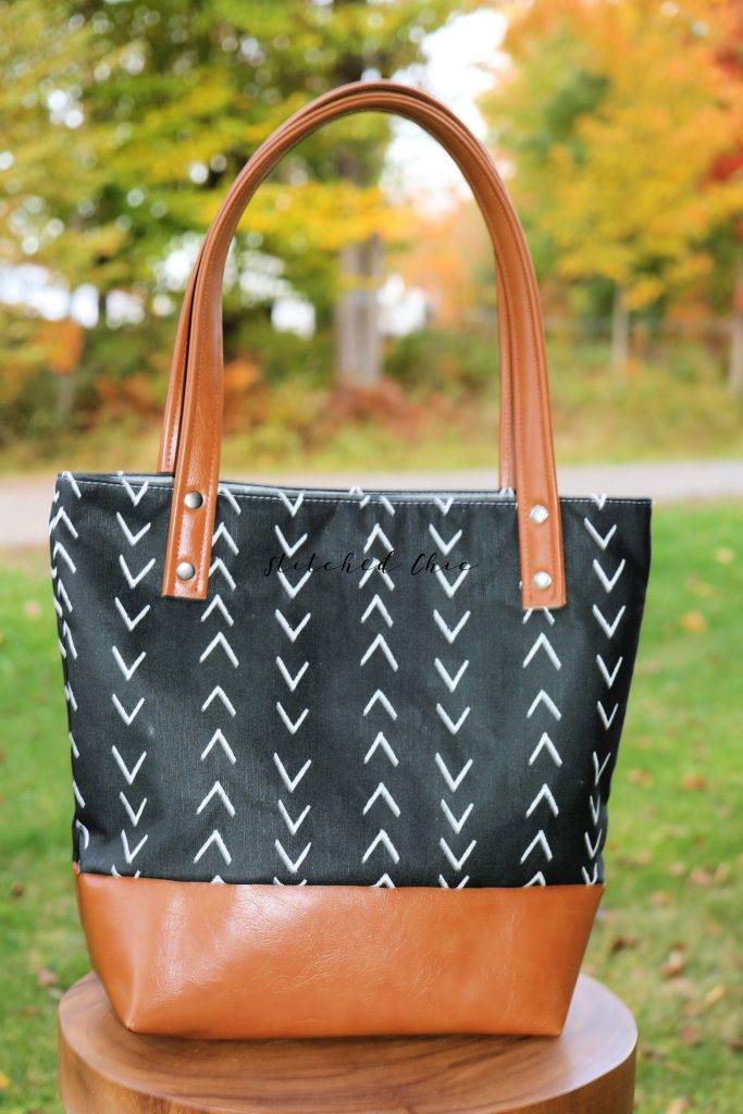 Stiched Chic Tote Bags, Made in Maine, USA