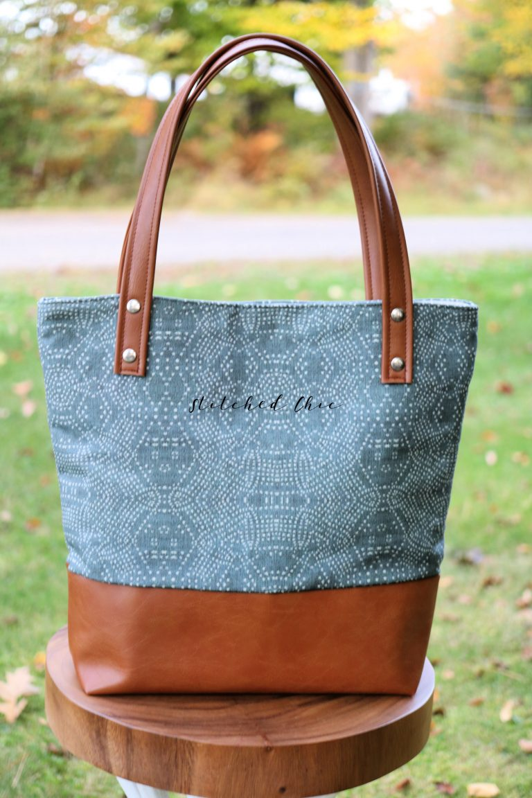Stitched Chic Tote Bags - good for all occasions