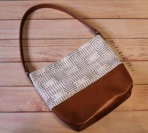 Modern Shoulder Bag by Stitched Chic
