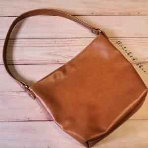 Vegan Leather Bag by Stitched Chic